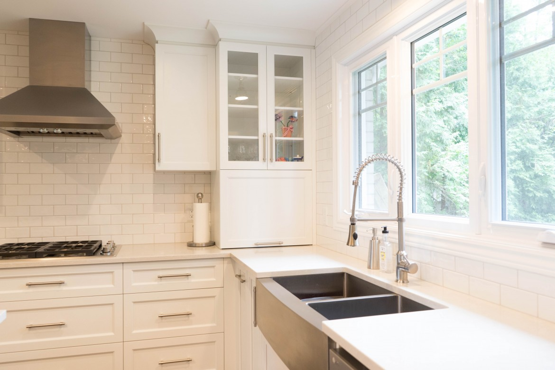 cuisine blanc laque et gris solutions pour la d233coration